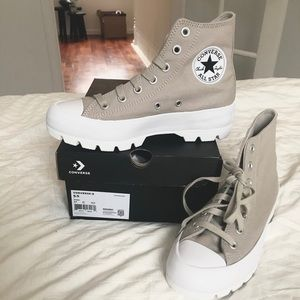 Converse canvas lugged boot